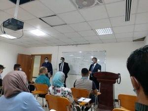 طلبة الدراسات العليا في كلية الهندسة الجامعة العراقية يباشرون الدوام الرسمي